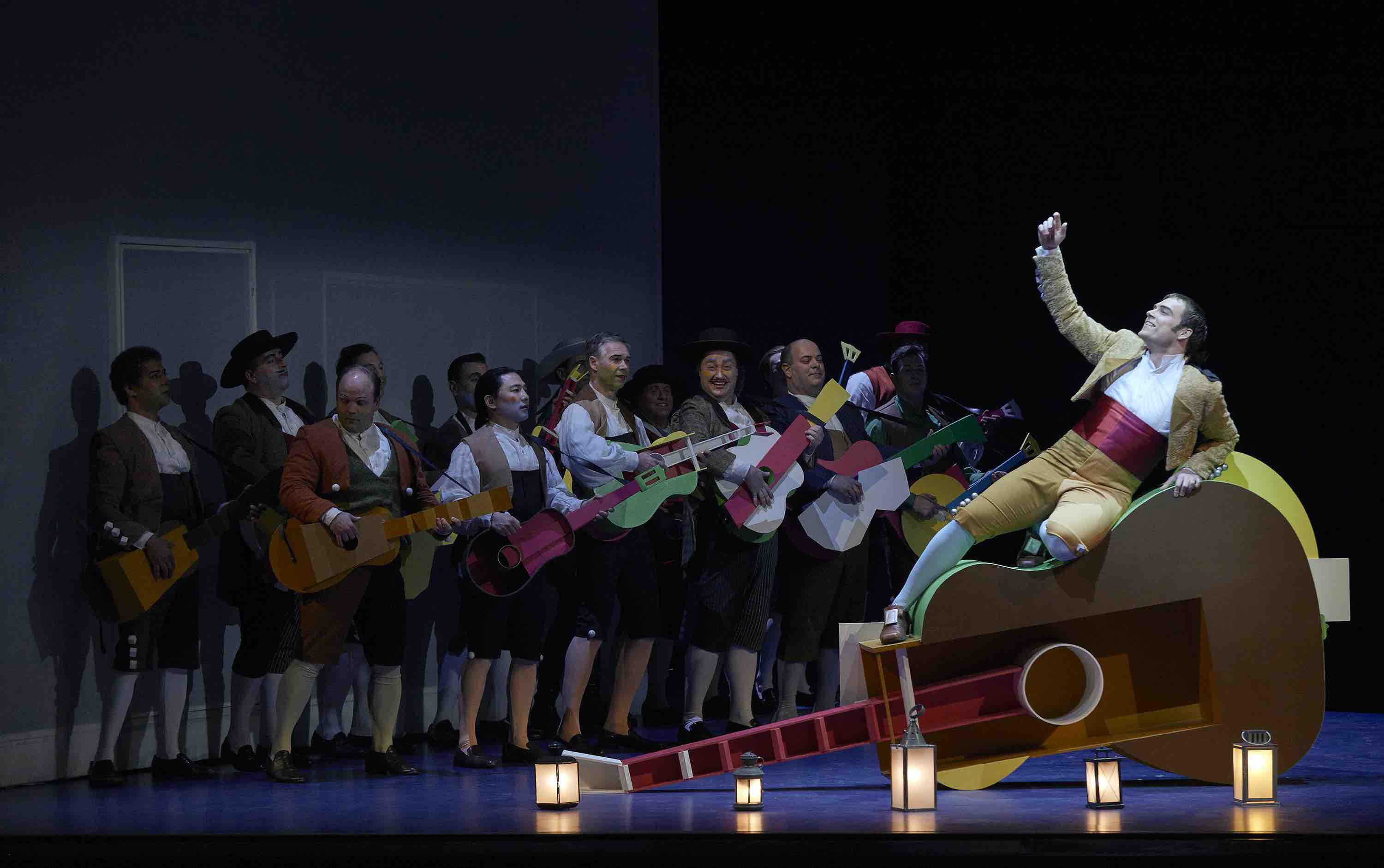 Cast on stage as the Canadian Opera Company 2020 season starts