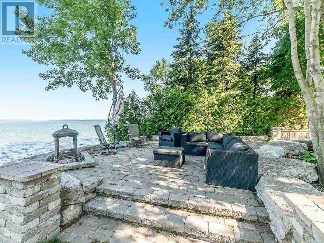 Ramara homes for sale view of lake from patio